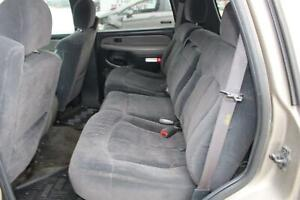 2002 Chevy Tahoe 2nd Oem Second Row Rear Seat Gray Cloth Back Bench