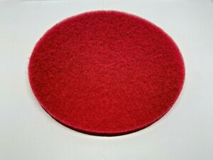 Lot Of 8 20 Red Floor Buffer Pads
