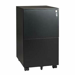 Vertical File Cabinet With Lock Mobile Filing Cabinet For Black