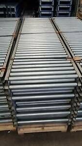 33 Oaw Gravity Roller Conveyor X 100 1 9 Rollers 3 Centers 30 Bf