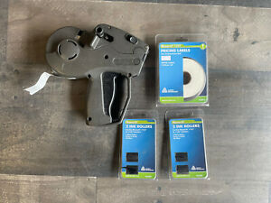 Monarch 1131 One Line Price Tag Label Gun W Pricing Labels Ink Roller