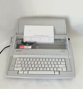 Brother Correctronic Gx 6750 Electronic Typewriter With Cover Works Perfectly