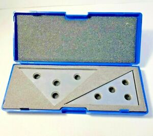 Any Time Tool Angle Block 2 Piece Set 30 60 90 45 90 20 Seconds