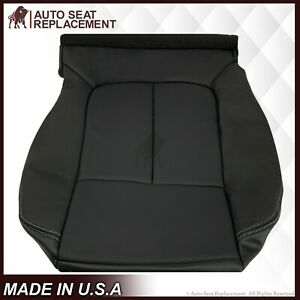 2009 2012 Ford F150 Lariat Passenger Bottom Perforated Leather Seat Cover