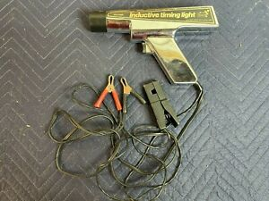 Vtg Sears Craftsman Inductive Timing Light Model 244 213801 W Cables