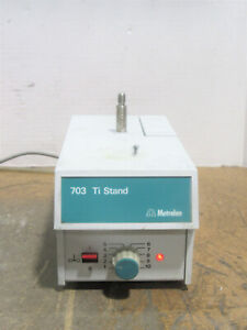 Metrohm 703 Ti Stand Compact Titration Stand Unit W built in Stirrer And Pump