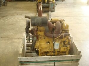 New Holland Ts110 Tractor 304 Ci Turbo Charged Running Engine