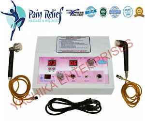 1mhz 3mhz Ultrasound Therapy Machine With 2 Separate Applicator Best Buy