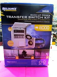 Reliance Controls 306lrk back Up Power Transfer Switch Kit New