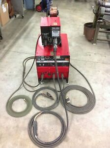 Lincoln Electric Idealarc Cv 300 Mig Welder Lincoln Ln 7 Wire Feed