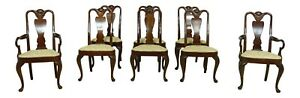 Lf52332ec Set Of 8 Hickory Chair Co Mahogany Dining Room Chairs