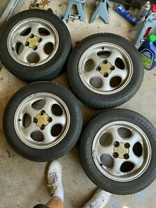 99 05 Oem 14 Inch Miata Wheels Set Of 4 With Tires Plenty Of Life Local Only
