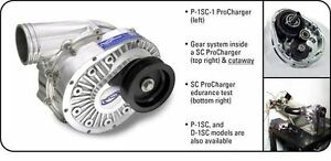 In Stock Ati Procharger P 1sc 1 Supercharger Head Unit Satin Finish Blower