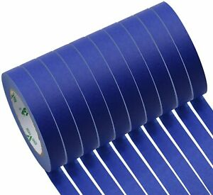Blue Painters Tape Residue Free Wall Painting Masking Tape Sharp Lines