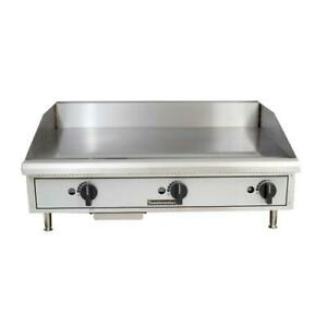 Toastmaster Tmgm36 36 In Pro series Manual Countertop Gas Griddle