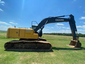 2011 John Deere 200d Cab Excavator With A c And Heat