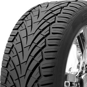 2 New 255 60r17 General Grabber Uhp 255 60 17 Tires