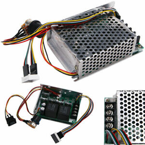 Newly 10 55v 60a 5000w Reversible Dc Motor Speed Controller Pwm Control Hot Sale