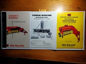 New Holland 67 Hayliner Baler Owner s Operator s Manual Assembly Parts