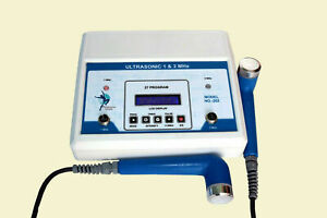 Ultrasound Therapy 27 Prog 1 Mhz 3 Mhz Physical 202 Model Physio Unit Sjg