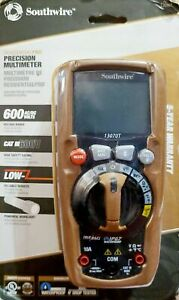 Southwire 13070t Residentialpro True Rms Cat Iii Multimeter New