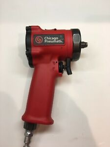 Chicago Pneumatic 3 8 Dr Ultra Compact Stubby Impact Wrench Cp 7731 Used