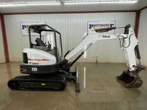 2017 Bobcat E35 Compact Track Excavator With Orops