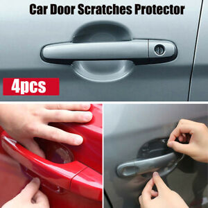 4x Invisible Car Auto Door Handle Films Scratches Protector Stickers Accessories
