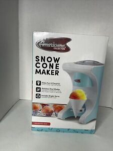 Shaved Ice Machine Snow Cone Maker Americana Collection Factory Sealed