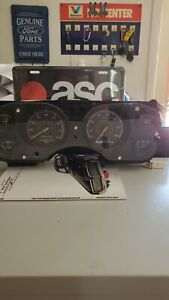 79 82 Mustang Capri Instrument Cluster 140mph With 8 Grand Tachometer