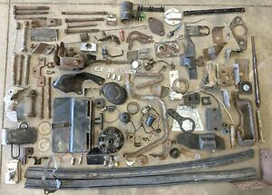 1959 1964 Ford Galaxie Miscellanous Mixed Lot Brackets Covers Mounts Bolts 1963