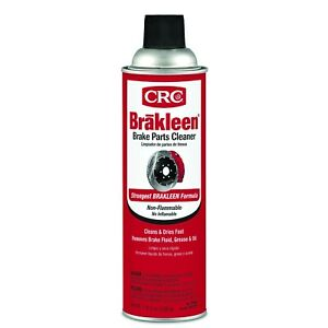 Crc Brakleen Brake Parts Cleaner Non Flammable 19 Wt Oz 05089 20 Oz