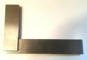 Mitutoyo Engineers 916 592 4 Fixed Square Grade B Made In England Used