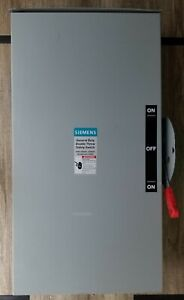Siemens Dtgnf224nr Nonfusible Double Throw Safety Switch General Duty 240v 3r