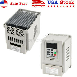 220v Variable Frequency Drive Inverter Vfd 2 2kw 12a 1ph Input 3ph Output