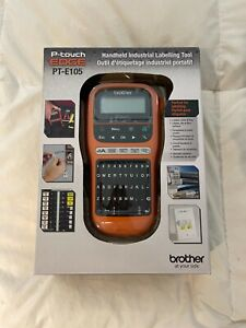 Brother Pt e105 P touch Edge Handheld Industrial Label Maker