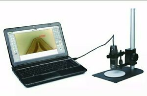 Insize Digital Electronic Measuring Microscope 10x 200x Take Pictures Video