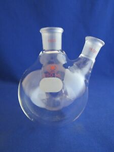 Ace 250ml Round Bottom Flask 2 Neck 19 22 14 20 Joints
