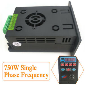 Single Phase Input 3phase Out Variable Frequency Drive Converter Motor Durable