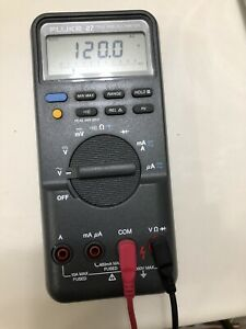 Fluke 87 True Rms Digital Multimeter Tested Worked Perfectly Usa Made E Cosmeti