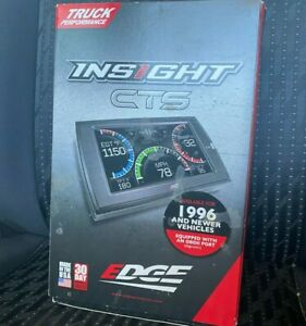 Edge Products 83830 Cts Insight Monitor Full Set New