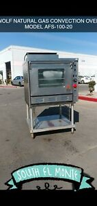 Wolf Convection Oven Natural Gas