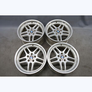 1997 2003 Bmw E39 5 Series Factory Staggered 18 M Parallel Style 37 Wheels Oem