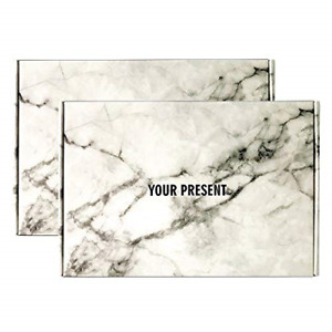 Marble Gift Boxes With Lids white Shipping Box For Small Business pack Of 20 Box