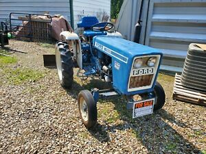 1979 Ford 1300 Tractor 2 Cyl Diesel No emissions Blade Included