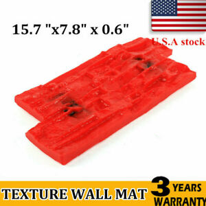 Slate Seamless Polyurethan Texture Stamp Mat Skin Concrete Cement Stamp Mould