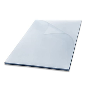Houyee 100 Pack Pvc Binding Presentation Covers Clear Report Covers 8 Mil 8 1 2