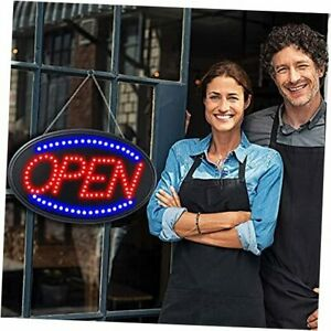 Bright Led Open Sign For Business 23 X 14 Inch Large Open Neon Sign