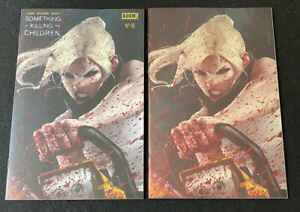 SOMETHING IS KILLING THE CHILDREN #16 Jeehyung Lee set foil HIGH GRADE $49.95