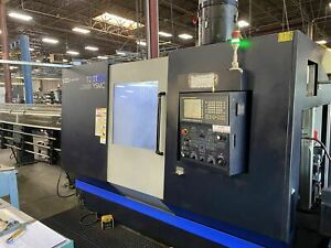 Hwacheon T2 2t Ysmc Multi Axis Cnc Lathe 2015 Dual Spindle Live Tooling Y A